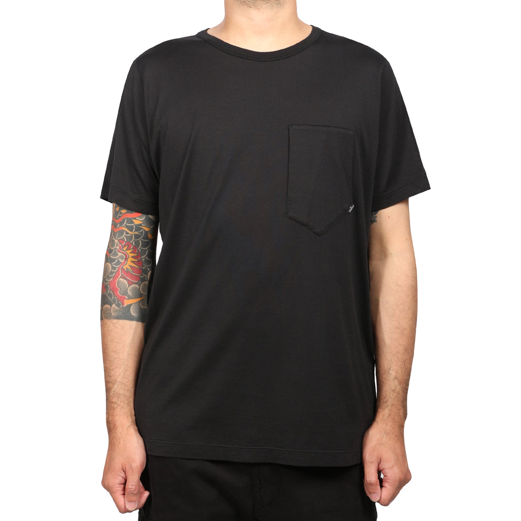 Stone Island Shadow Project Mako Cotton Jersey Black