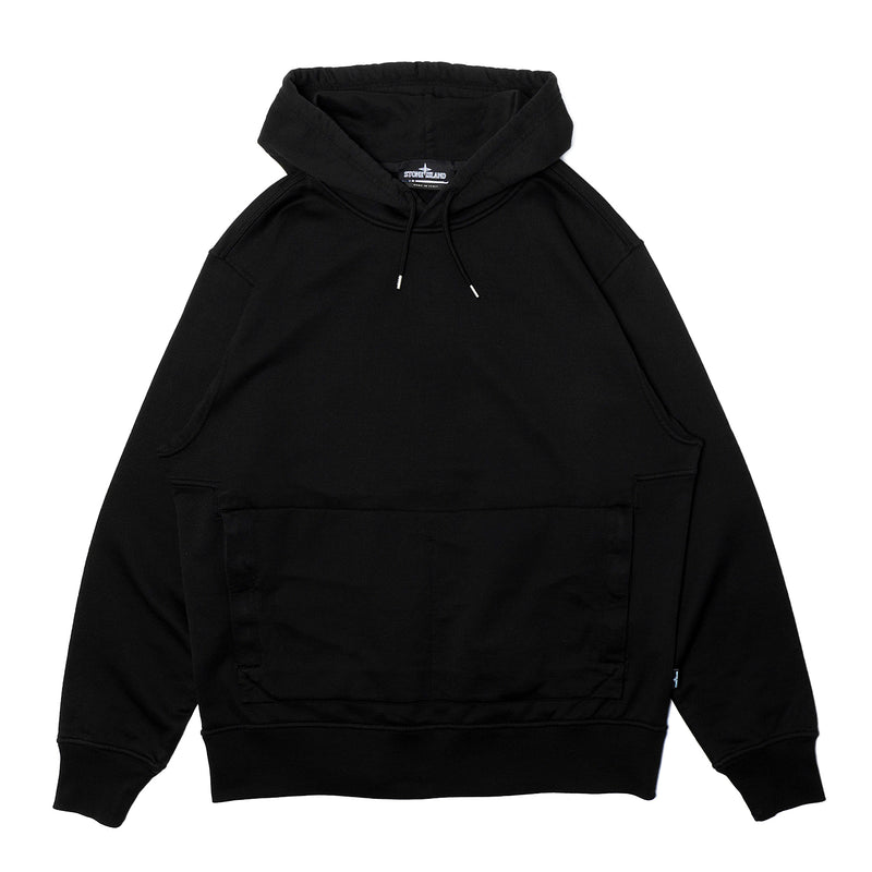 Stone Island Shadow Project Supima Hooded Sweatshirt Black