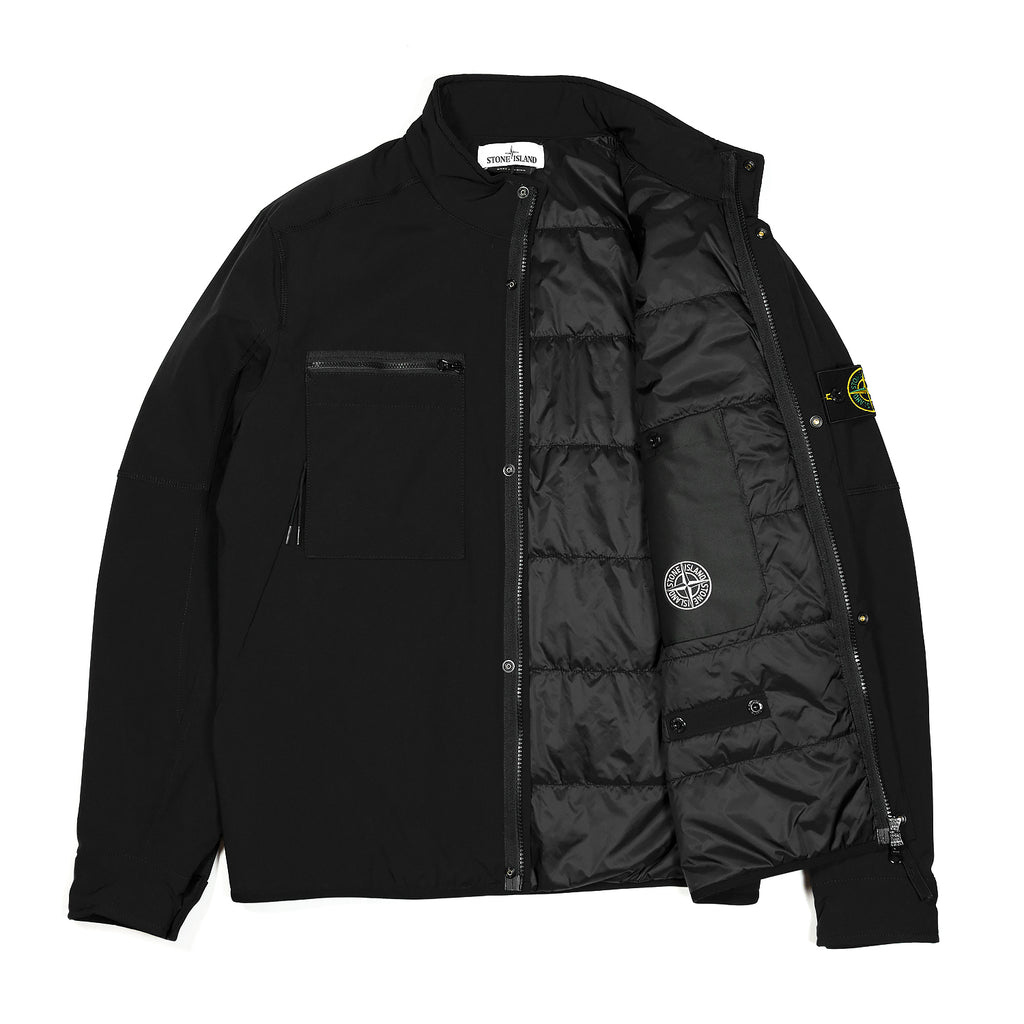 Stone Island Soft Shell-R Primaloft Insulated Jacket Black
