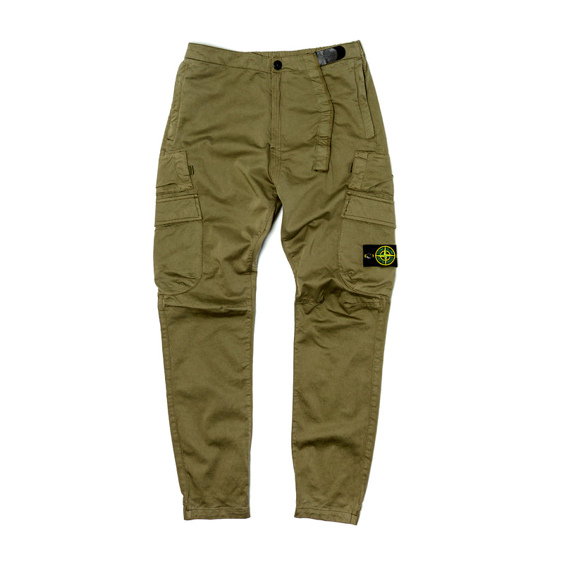 Stone Island Technical Cargo Pants Olive Drab