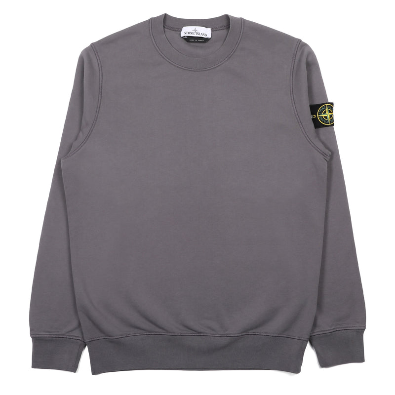 Stone Island Crewneck Sweater Blue Grey
