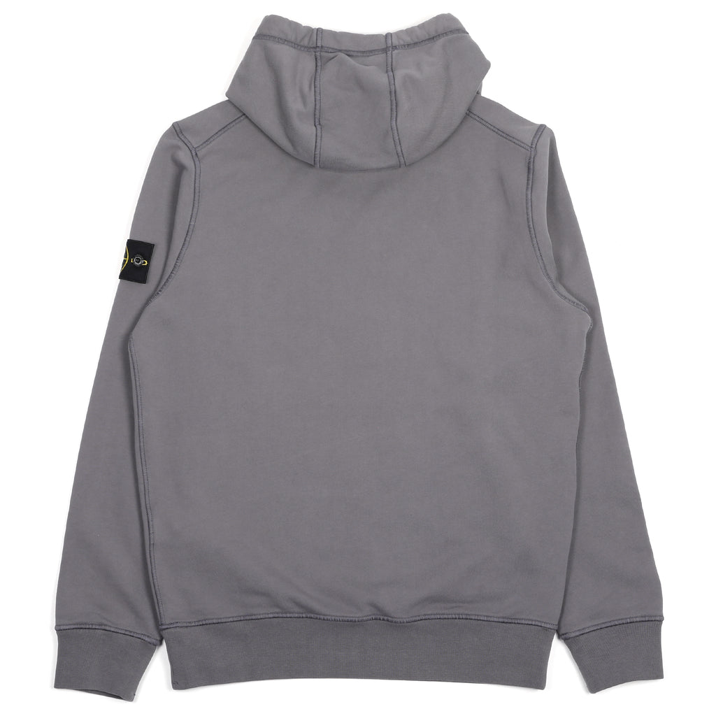 Stone Island Hooded Sweatshirt Blue Grey