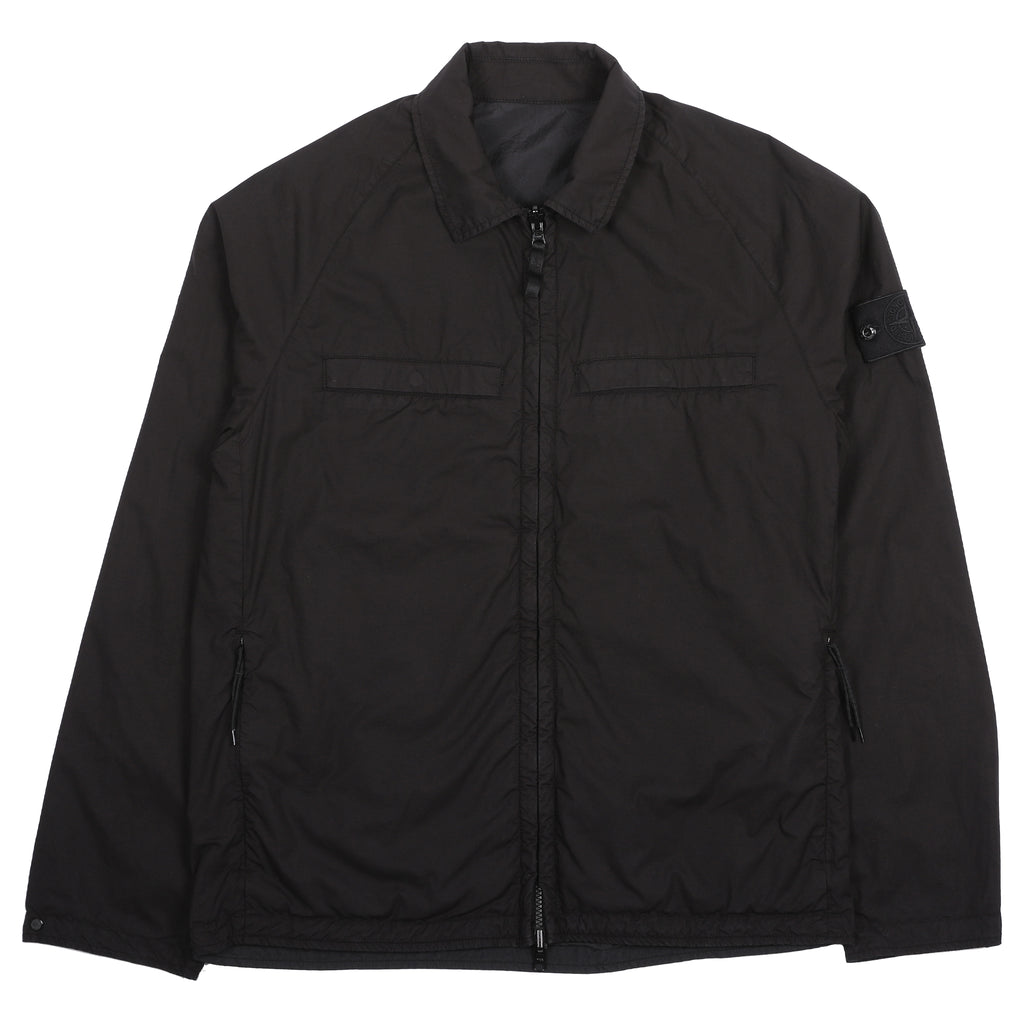 Stone Island Ghost Piece Reversible Overshirt Black