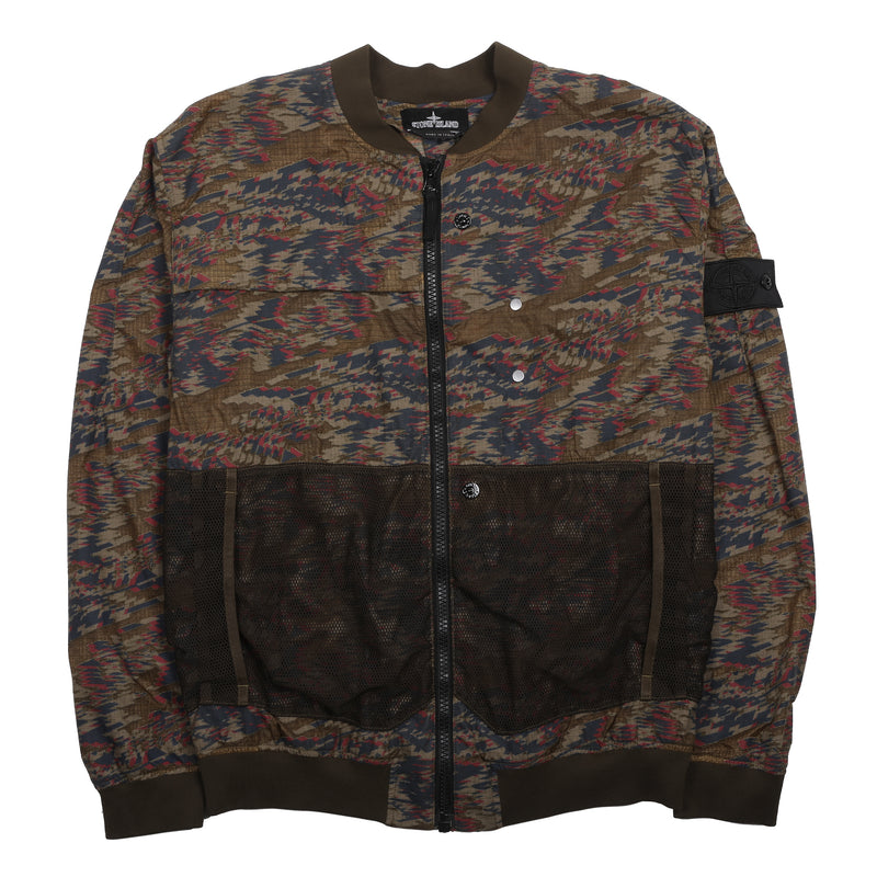 Stone Island Shadow Project Bomber Jacket Olive