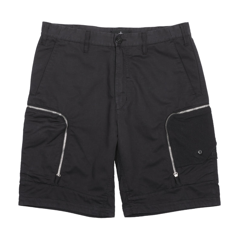 Stone Island Shadow Project Bermuda Shorts Black