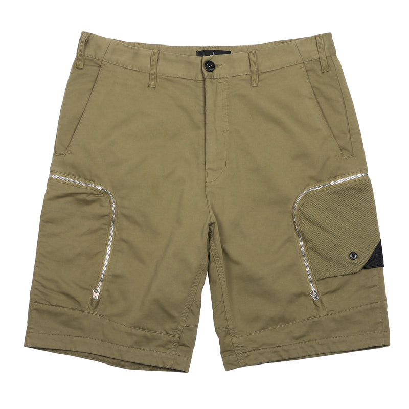 Stone Island Shadow Project Bermuda Shorts Olive Drab