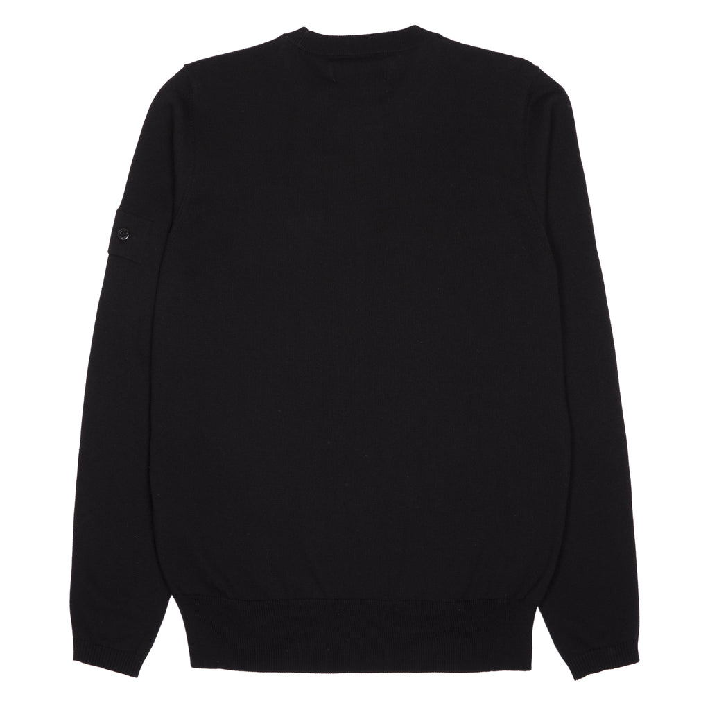 Stone Island Shadow Project Catch Pocket Crewneck Sweater Black