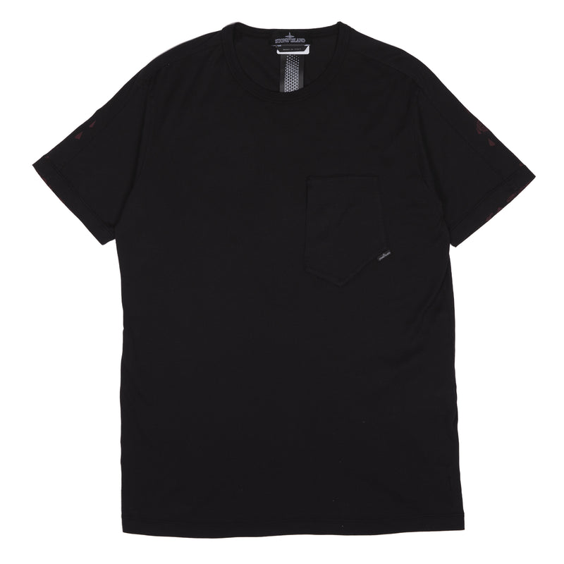 Stone Island Shadow Project Catch Pocket T-Shirt Black