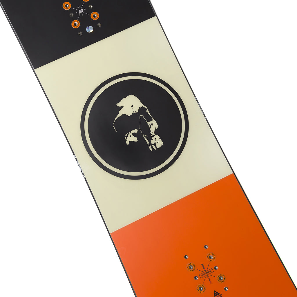 The Darkside Initiative x K2 AFTERBLACK Snowboard