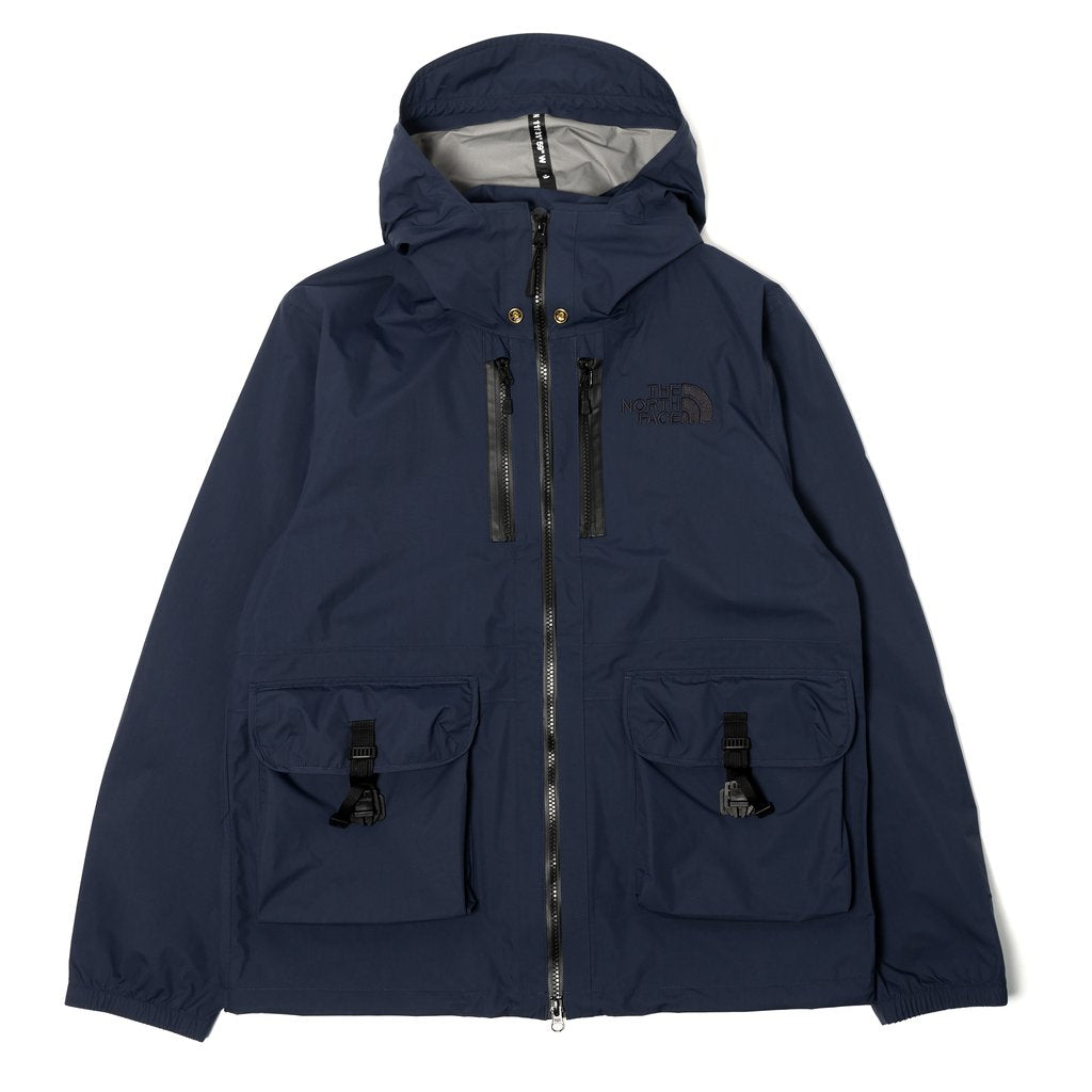 The North Face Black Series x Kazuki Kuraishi Double Hooded Jacket Navy