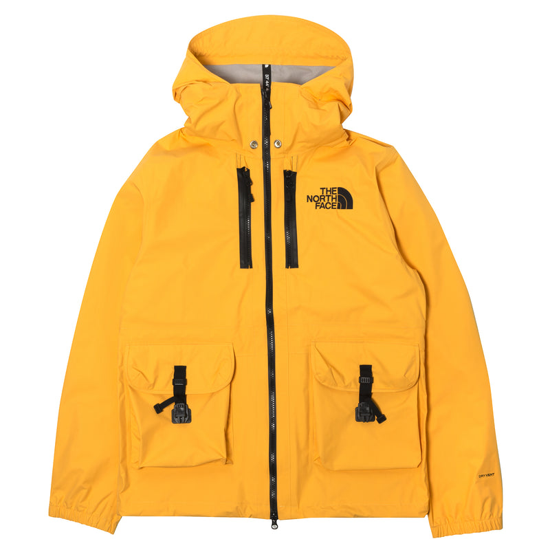 The North Face Black Series x Kazuki Kuraishi Double Hooded Jacket Yellow