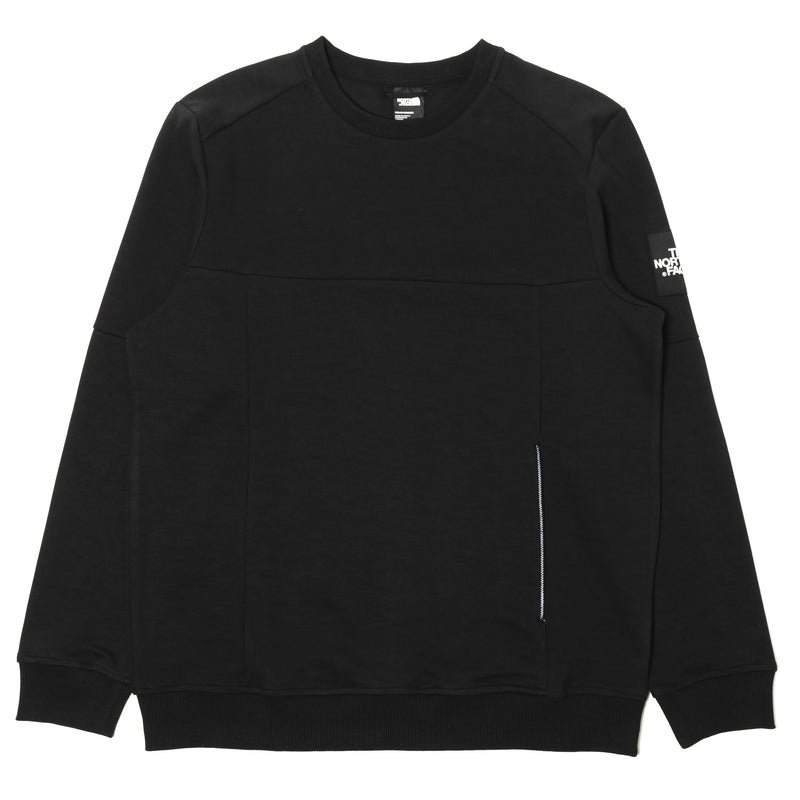 The North Face Fine 2 Crew Sweatshirt Black