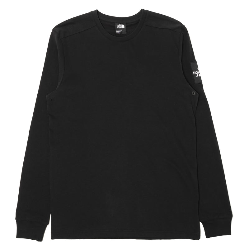 The North Face L/S Fine 2 Tee Black