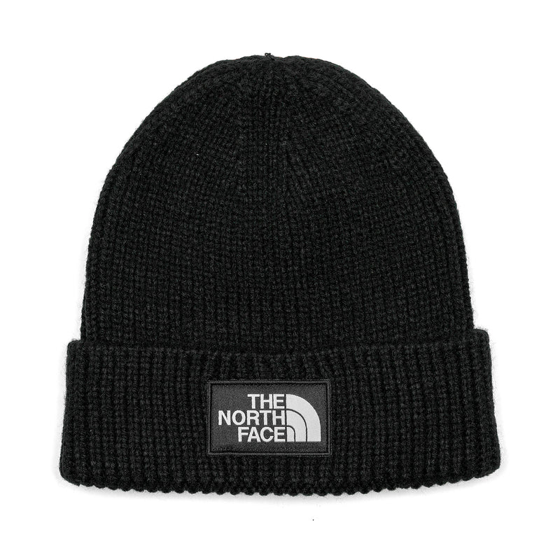 The North Face TNF Logo Box Cuffed Beanie Black