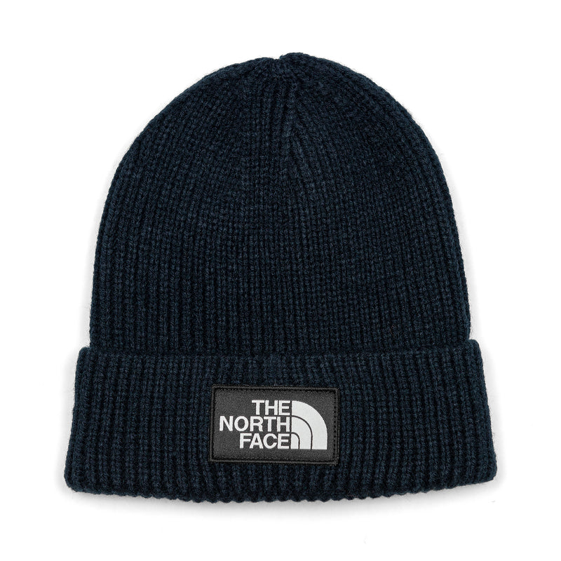 The North Face TNF Logo Box Cuffed Beanie Urban Navy