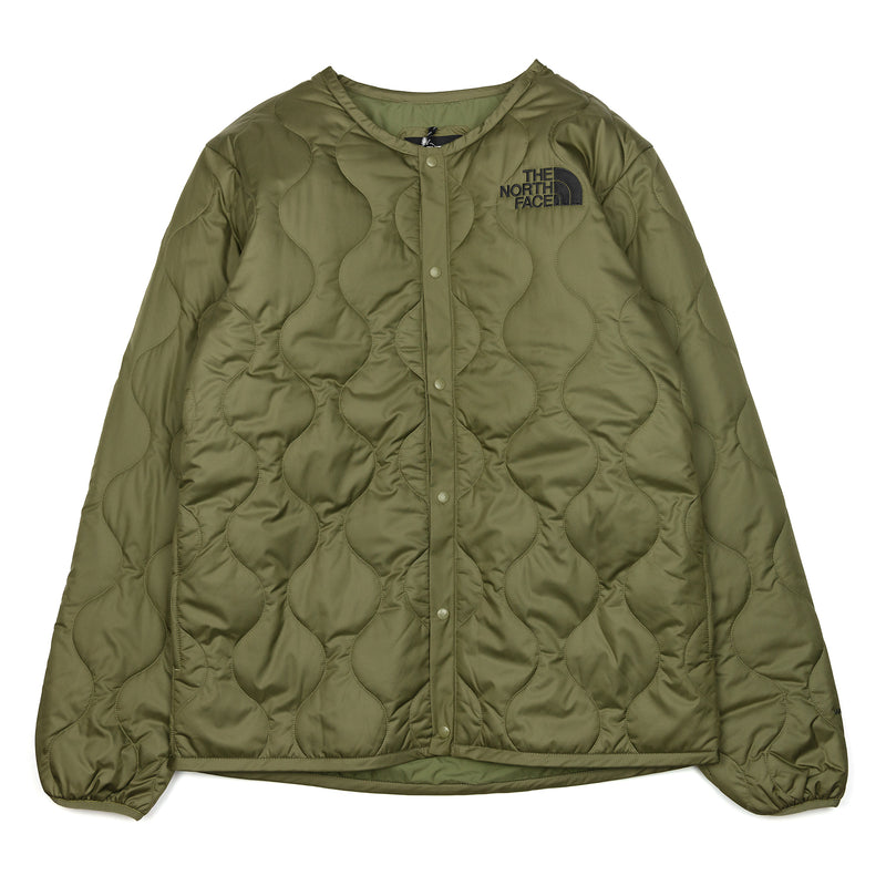 The North Face x Kazuki Kuraishi Insulated Cardigan Burnt Olive