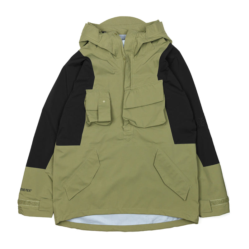 The North Face Black Series x Kazuki Kuraishi Pullover Gore-Tex Jacket Burnt Olive