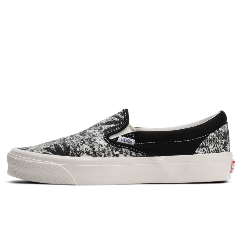 Vans Vault UA OG Classic Slip-On LX Black Acid Wash