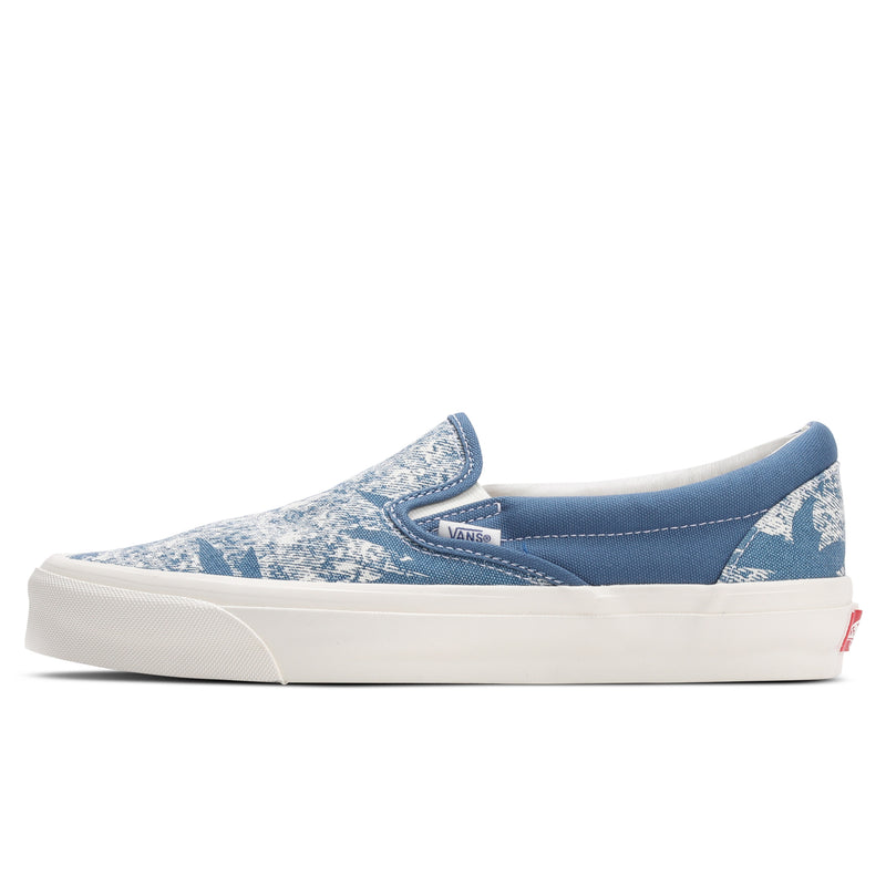 Vans Vault UA OG Classic Slip-On LX Navy Acid Wash