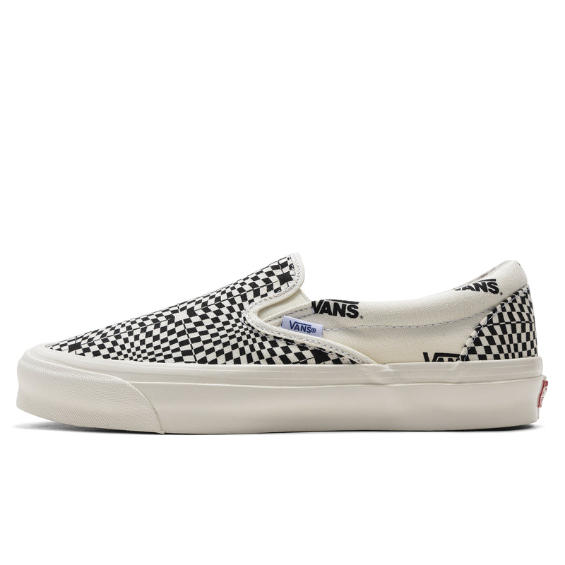 Vans Vault OG Classic Slip-On LX Optical Check Marshmallow