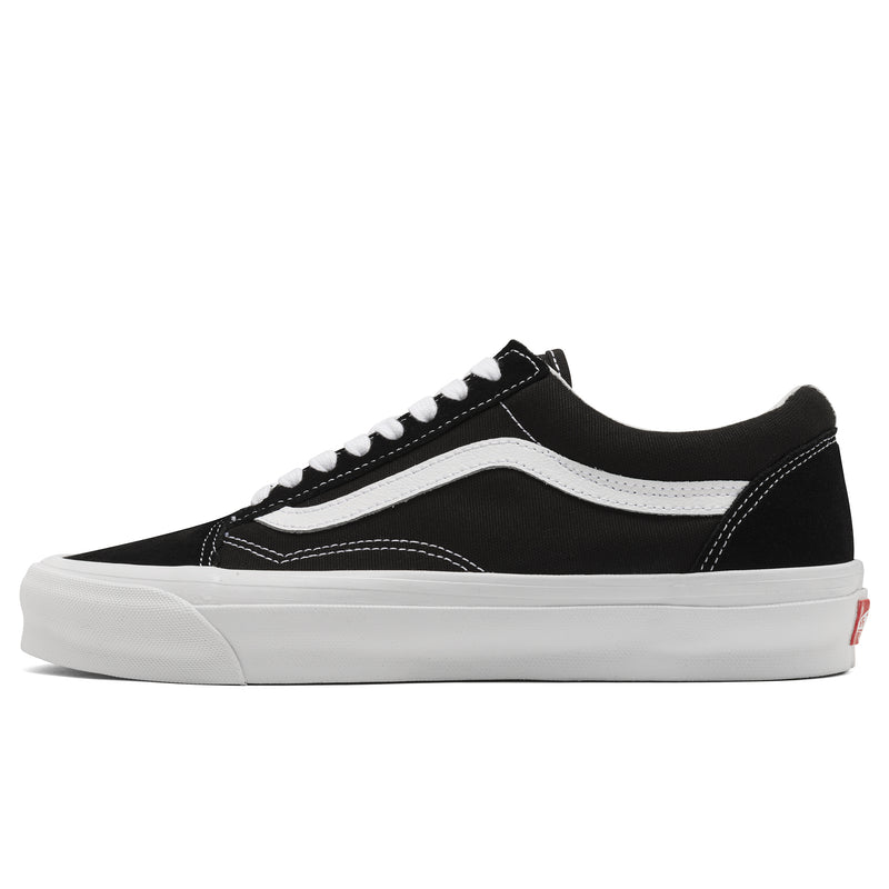 Vans Vault UA OG Old Skool LX Black True White