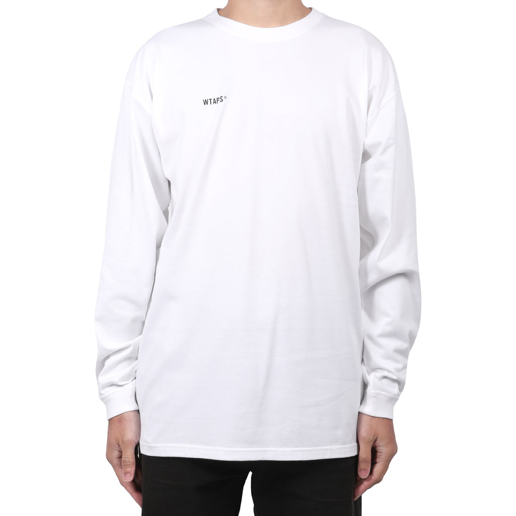 WTaps 40PCT Uparmored L/S T-Shirt White