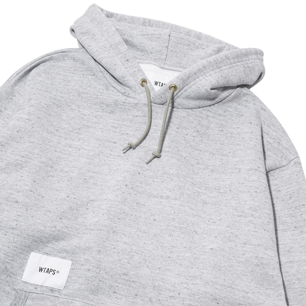 WTAPS Academy Hooded Sweater Gray