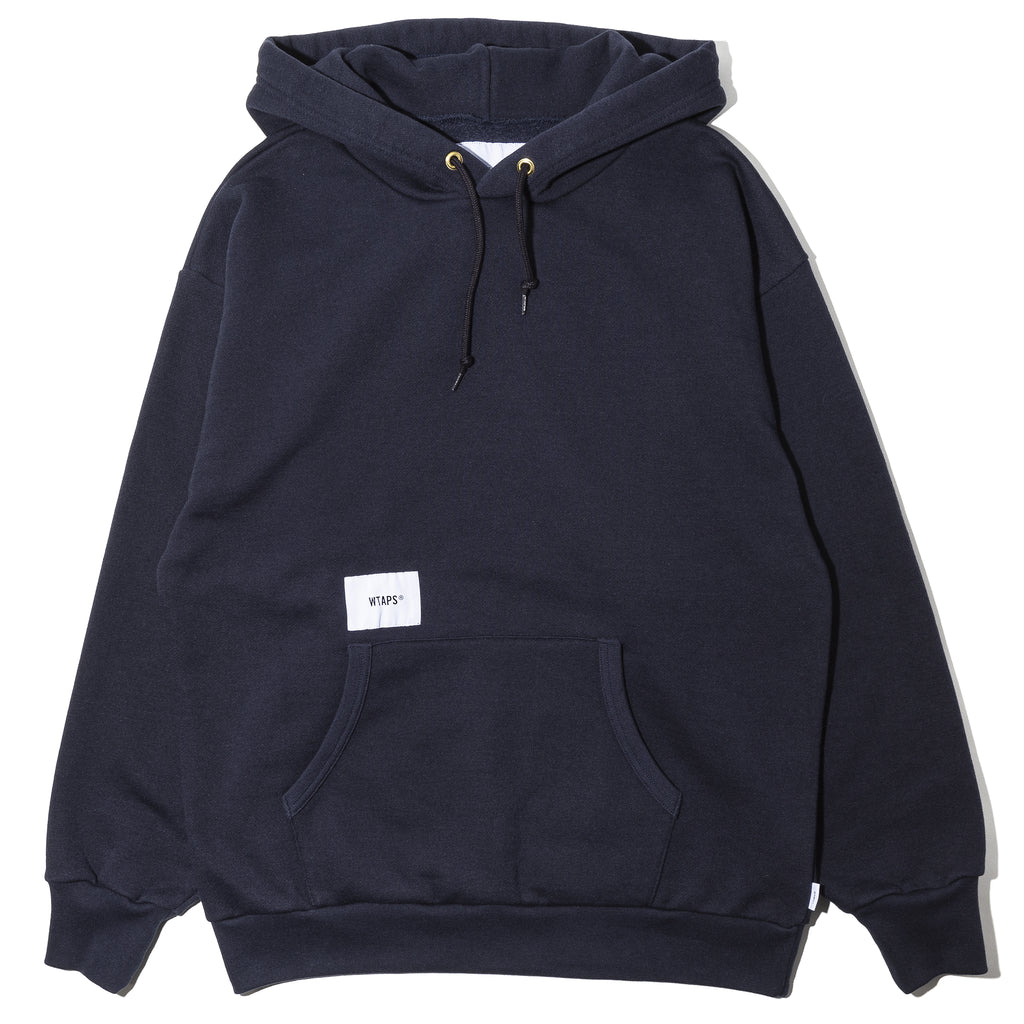 WTaps Academy Hooded Sweater Navy