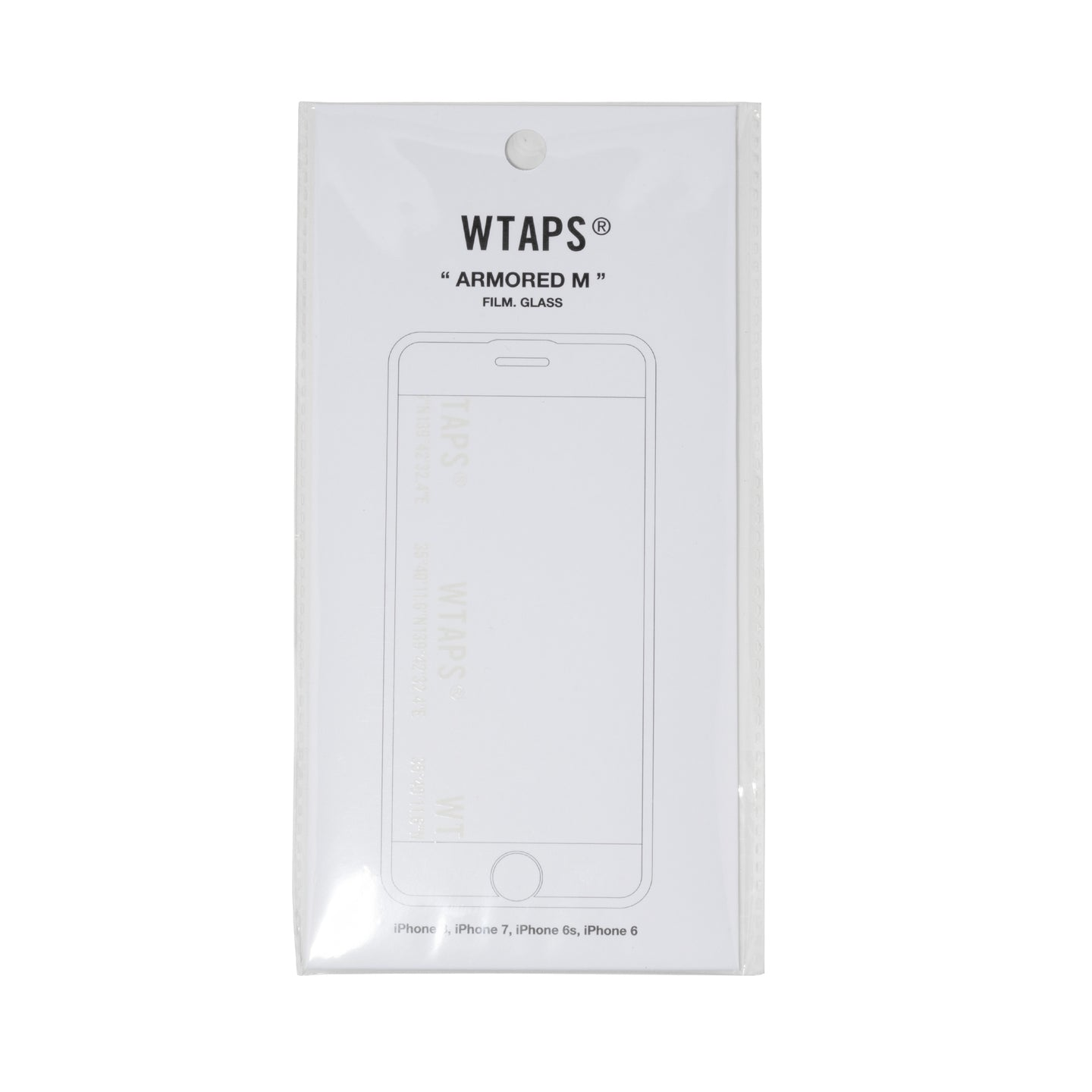 WTAPS Armored M iPhone Glass Film