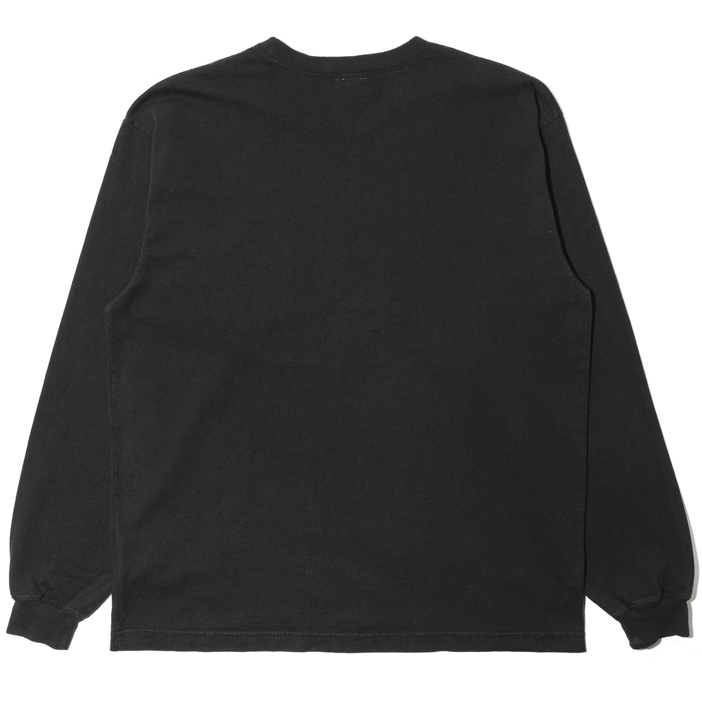 WTaps Blank LS 02 Made in USA Tee Black