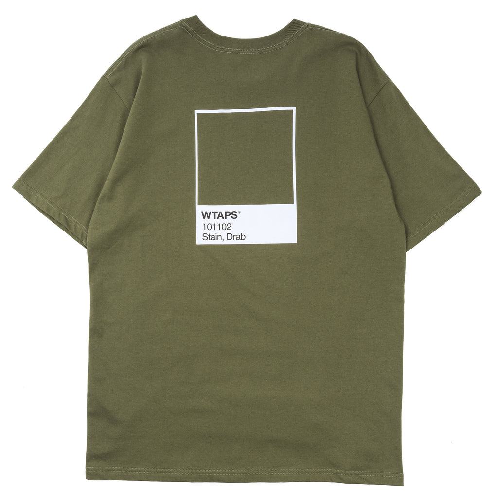 WTaps Faded T-Shirt Olive Drab