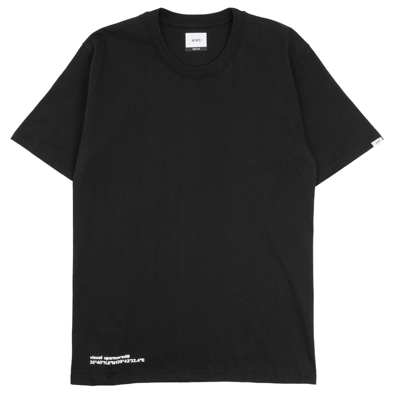 WTaps GPS 01 T-Shirt Black
