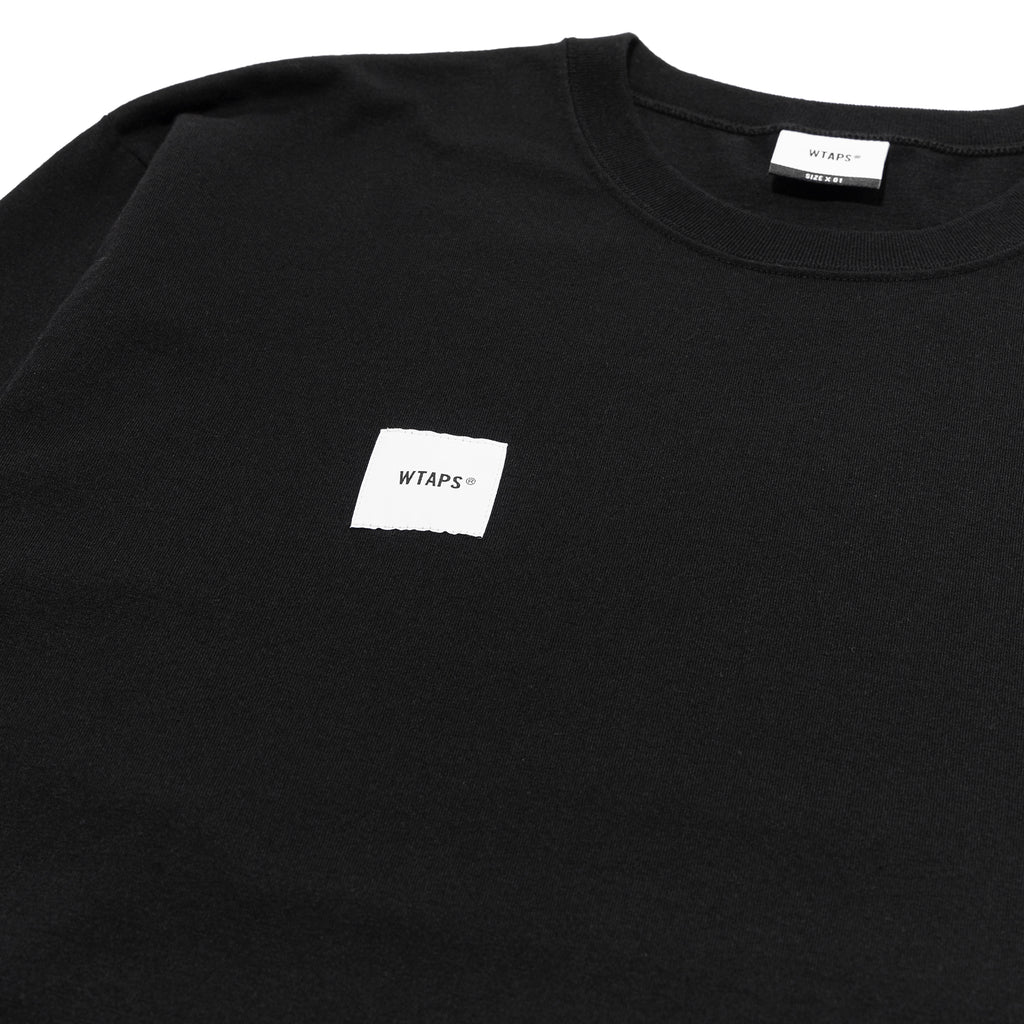 WTaps Home Base LS Tee Black