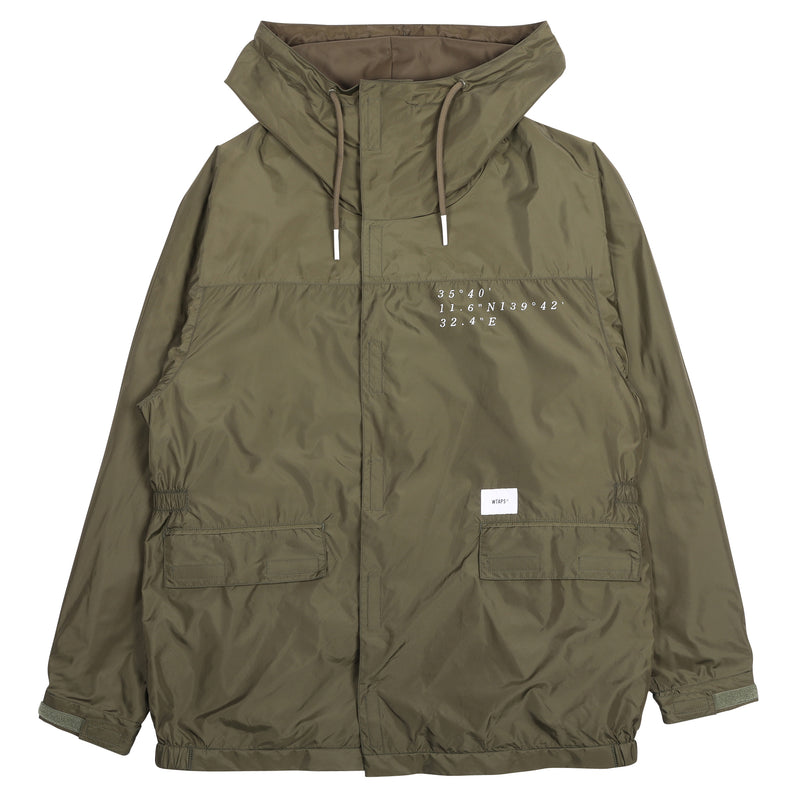WTAPS Pillar Jacket Olive Drab