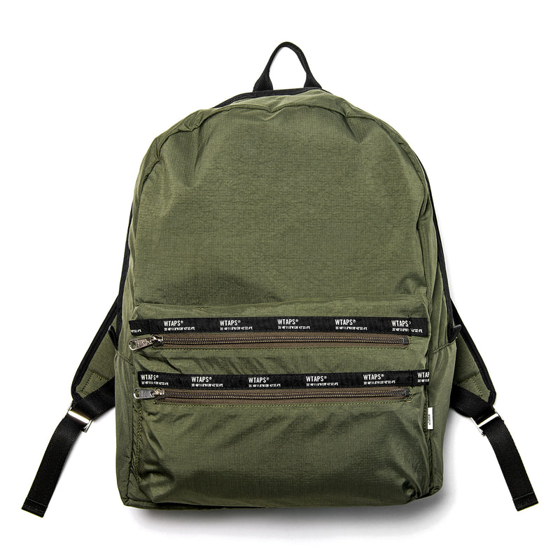 WTaps PST Nylon Backpack Olive Drab