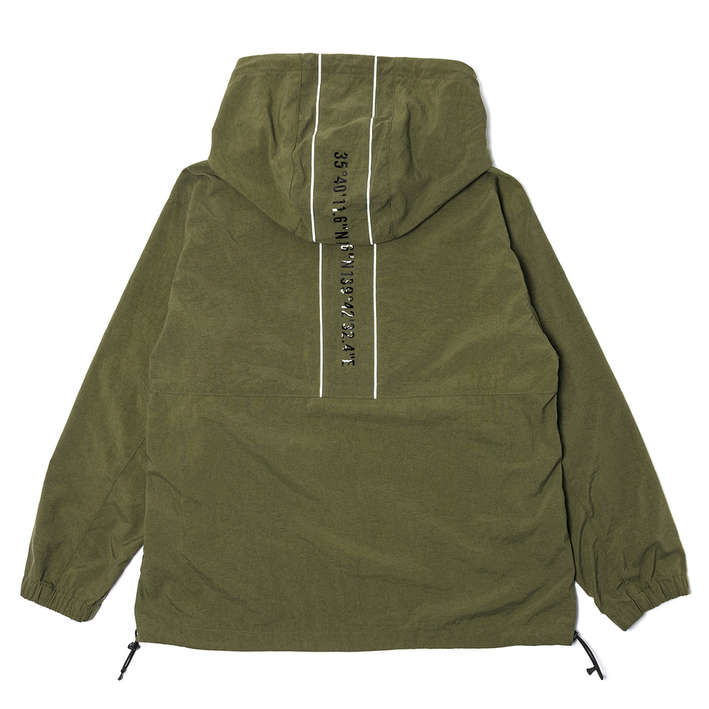 WTaps SBS Oxford Jacket Olive Drab