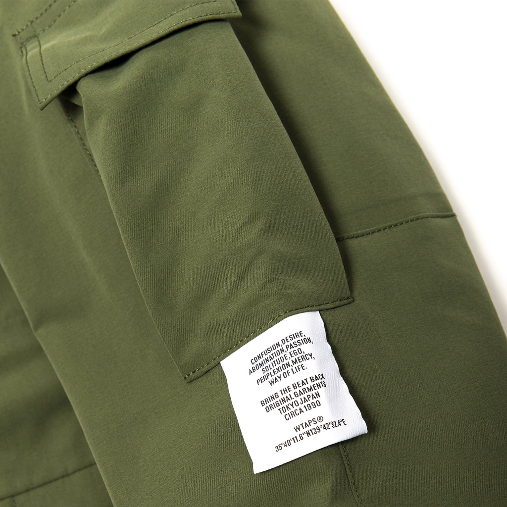 WTaps Sherpa 3Layer Jacket Olive Drab