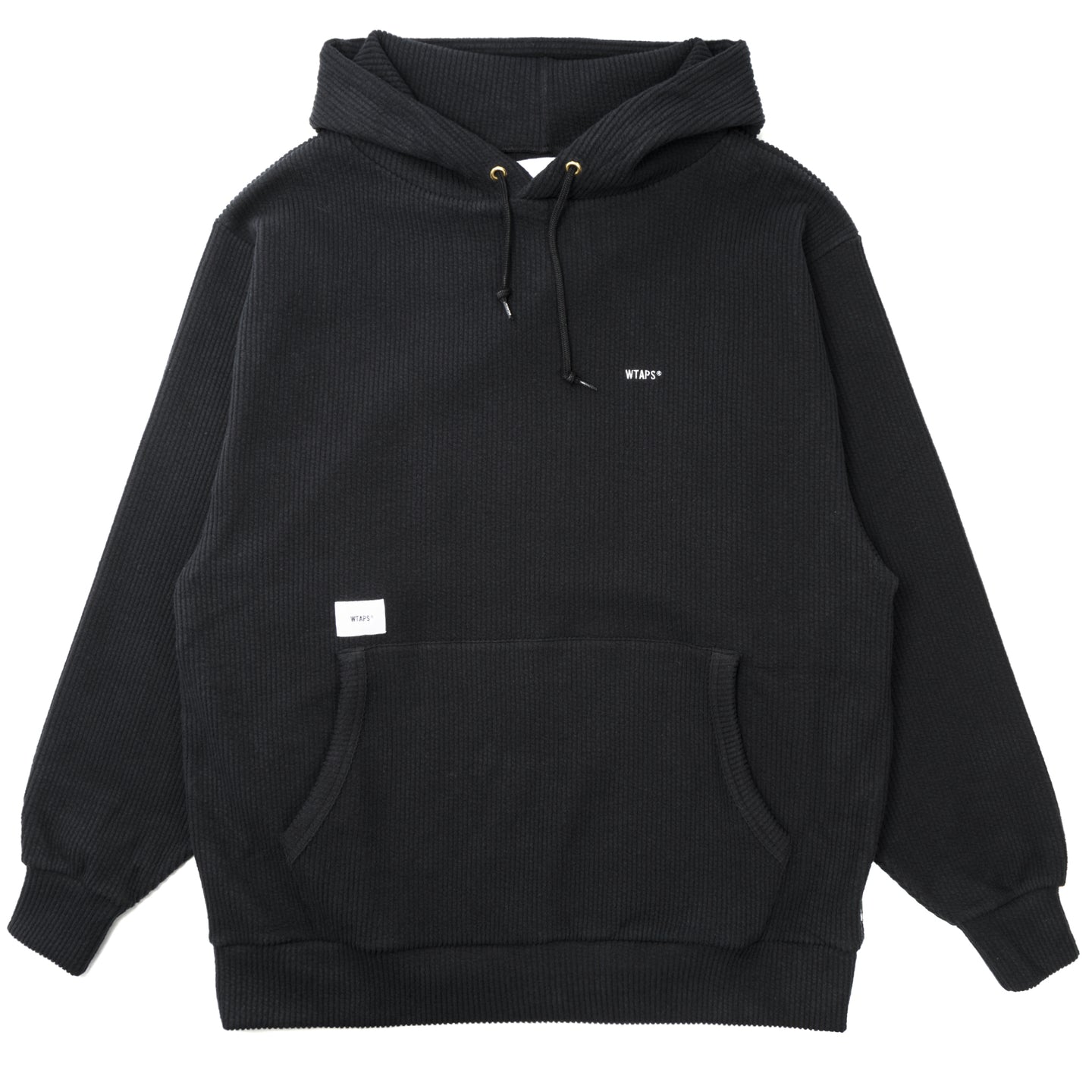 WTAPS Sign Hooded Sweatshirt Black