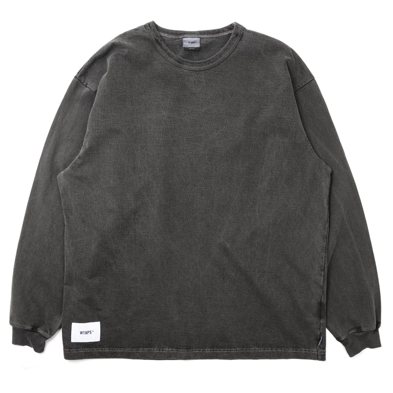 WTaps Sign LS Tee Black