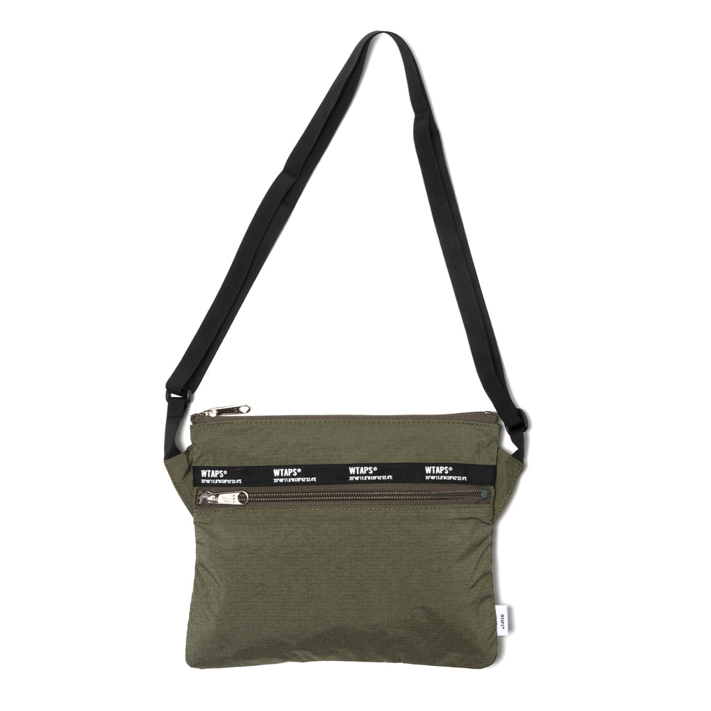 WTaps Sling Nylon Shoulder Bag Olive Drab