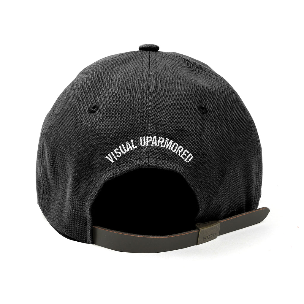 WTaps T-6L 01 Oxford Cap Black