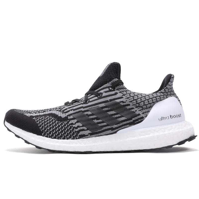 adidas Ultraboost 5.0 Uncaged DNA Core Black Grey Cloud White