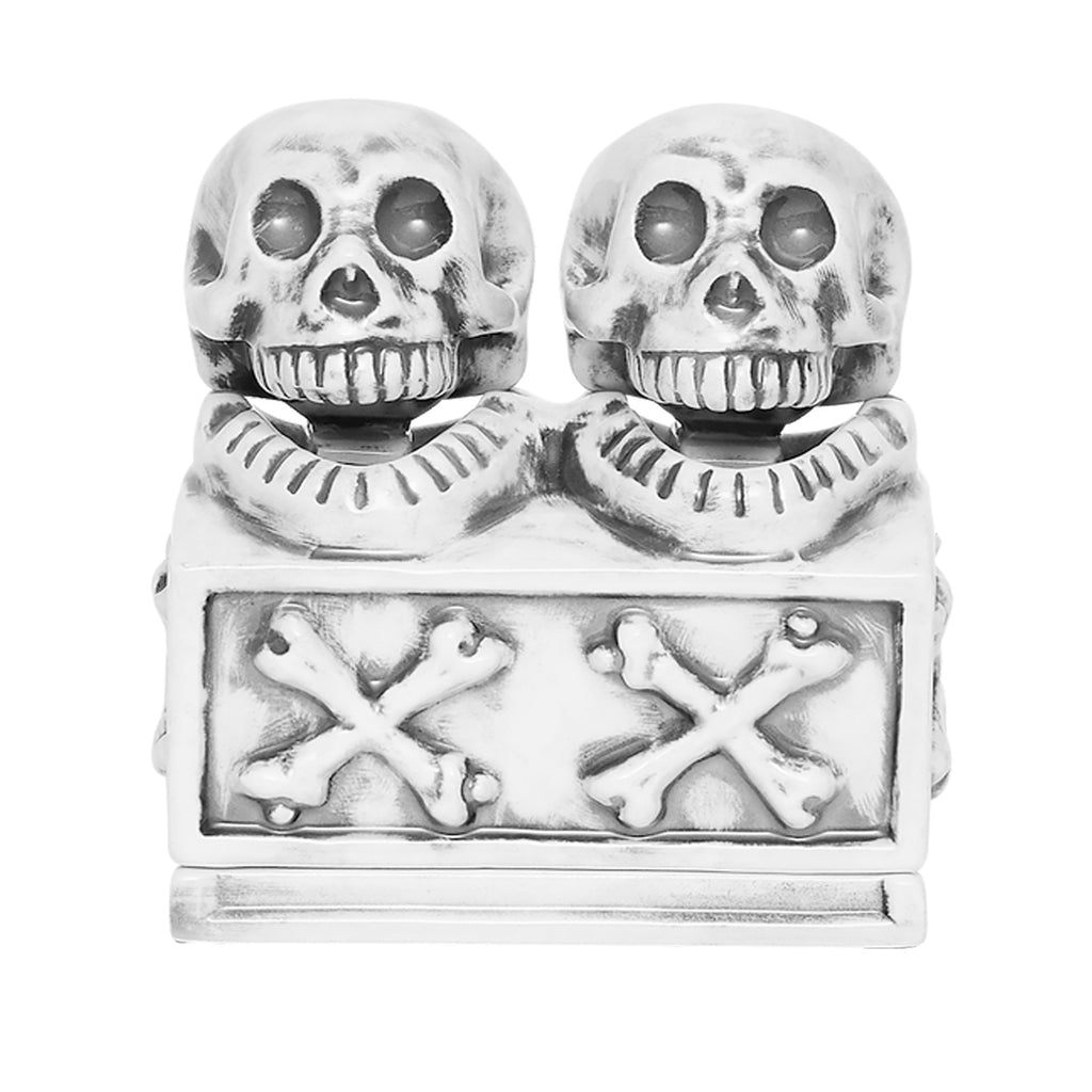 Neighborhood Booze Dual Skull Incense Chamber Black