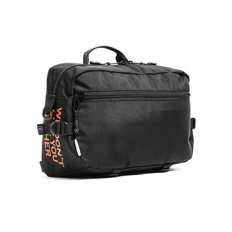 The Darkside Initiative x DSPTCH Slingpack - Black Ballistic Special Edition