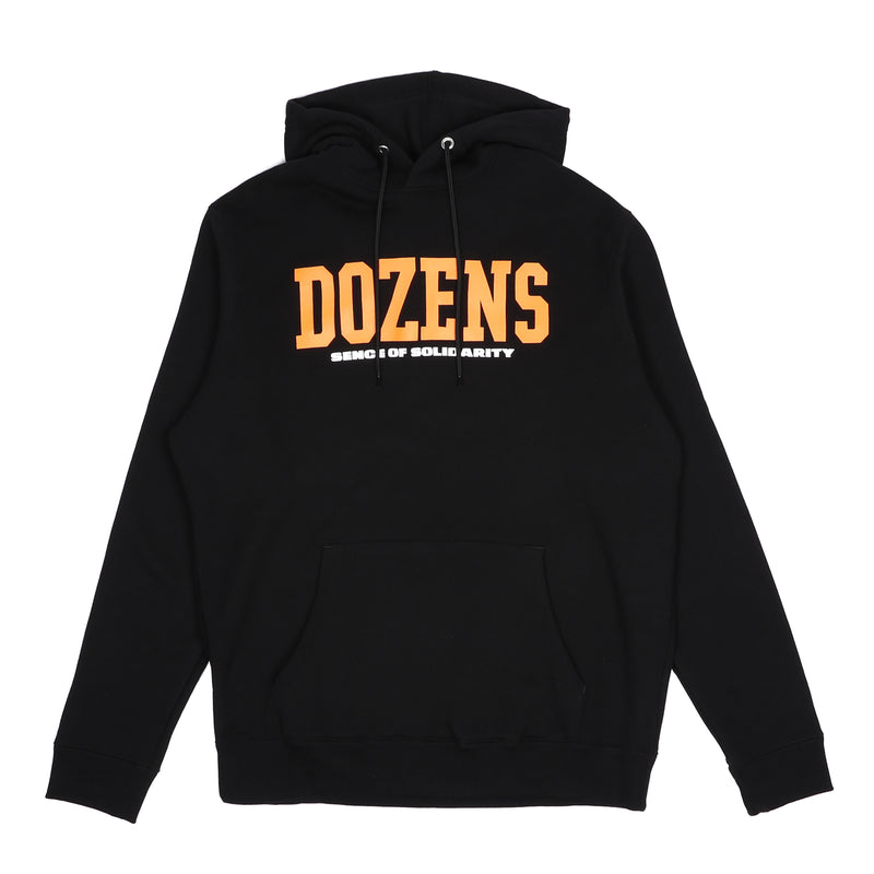 Rats College Hoodie Black Orange