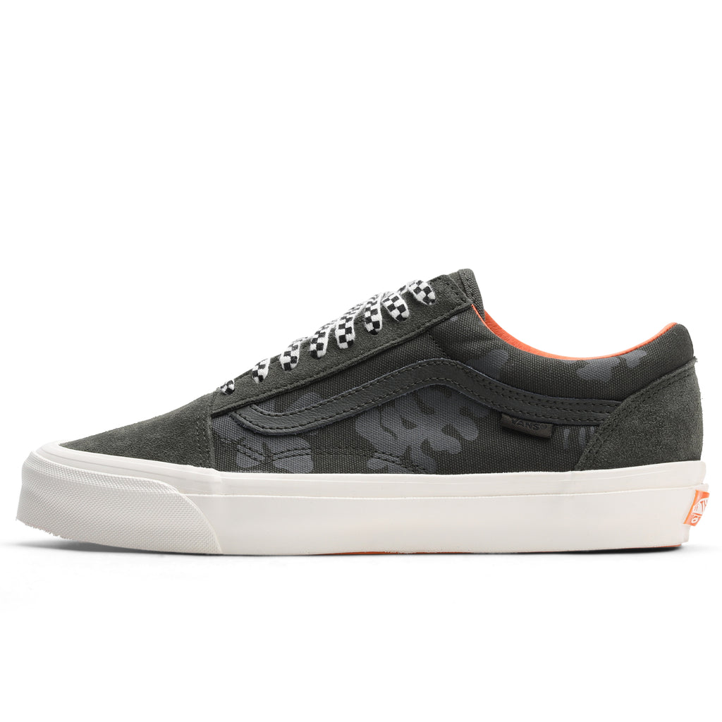 Vans Vault x Porter OG Old Skool LX Forest Green