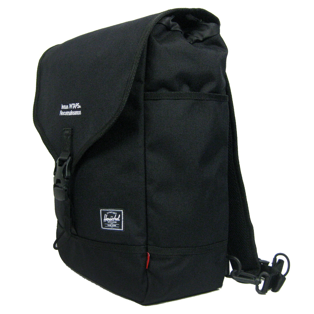 038a68753a0 WTaps x Herschel Backpack. 10379. Available in Black and Ranger Green.