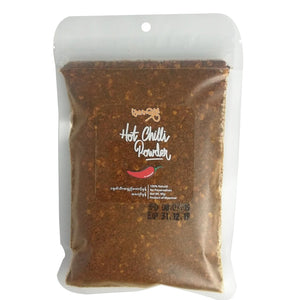 Marlar-Mhwe Hot Chilli Roasted Powder (refill)