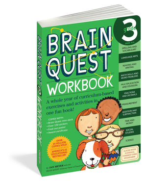 Book For Kids - Brain Quest Grade 3 Work Book