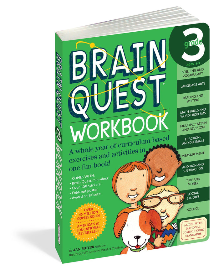 Brain Quest Grade 3 Work book